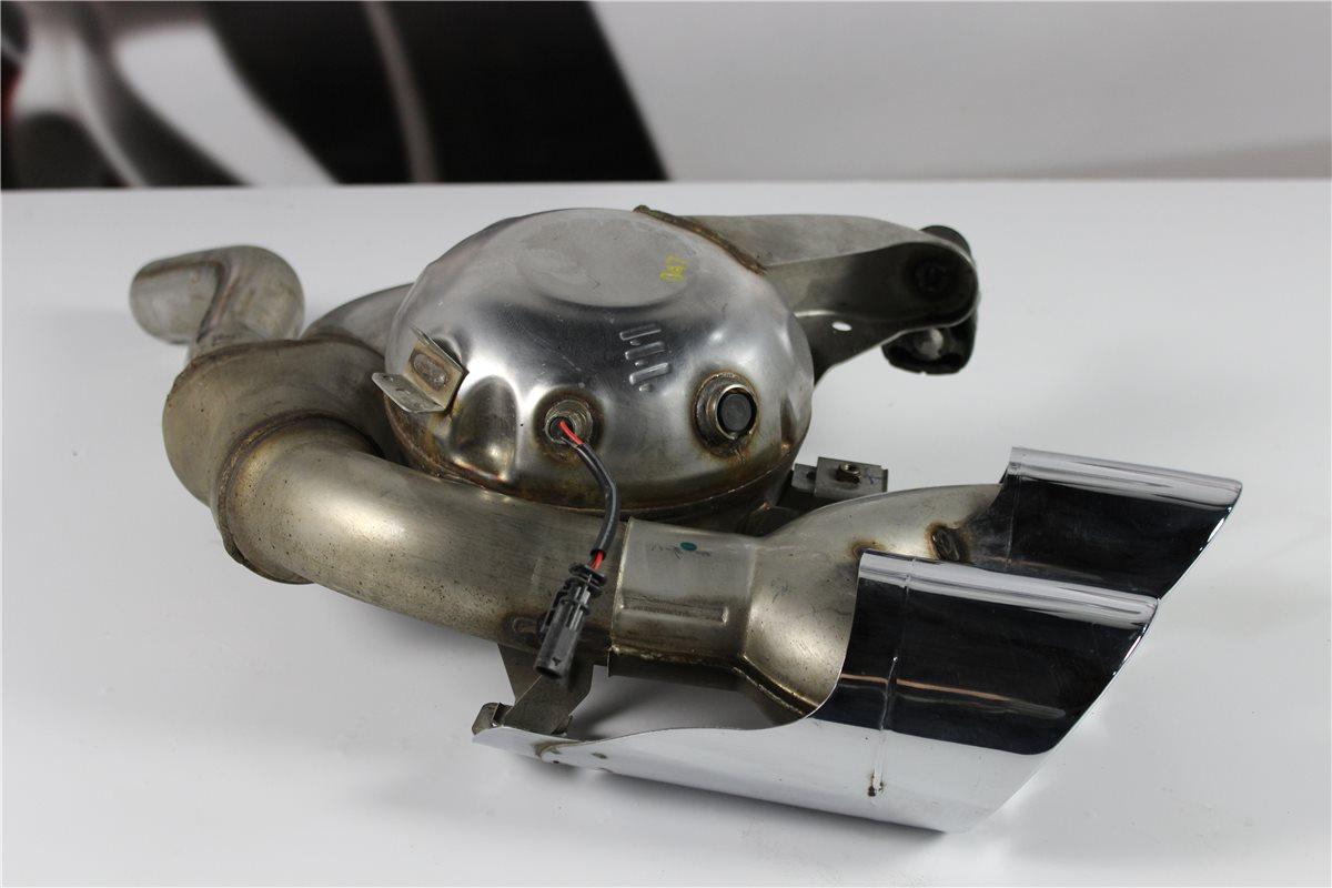 porsche macan auspuff soundgenerator exhaust links. Black Bedroom Furniture Sets. Home Design Ideas